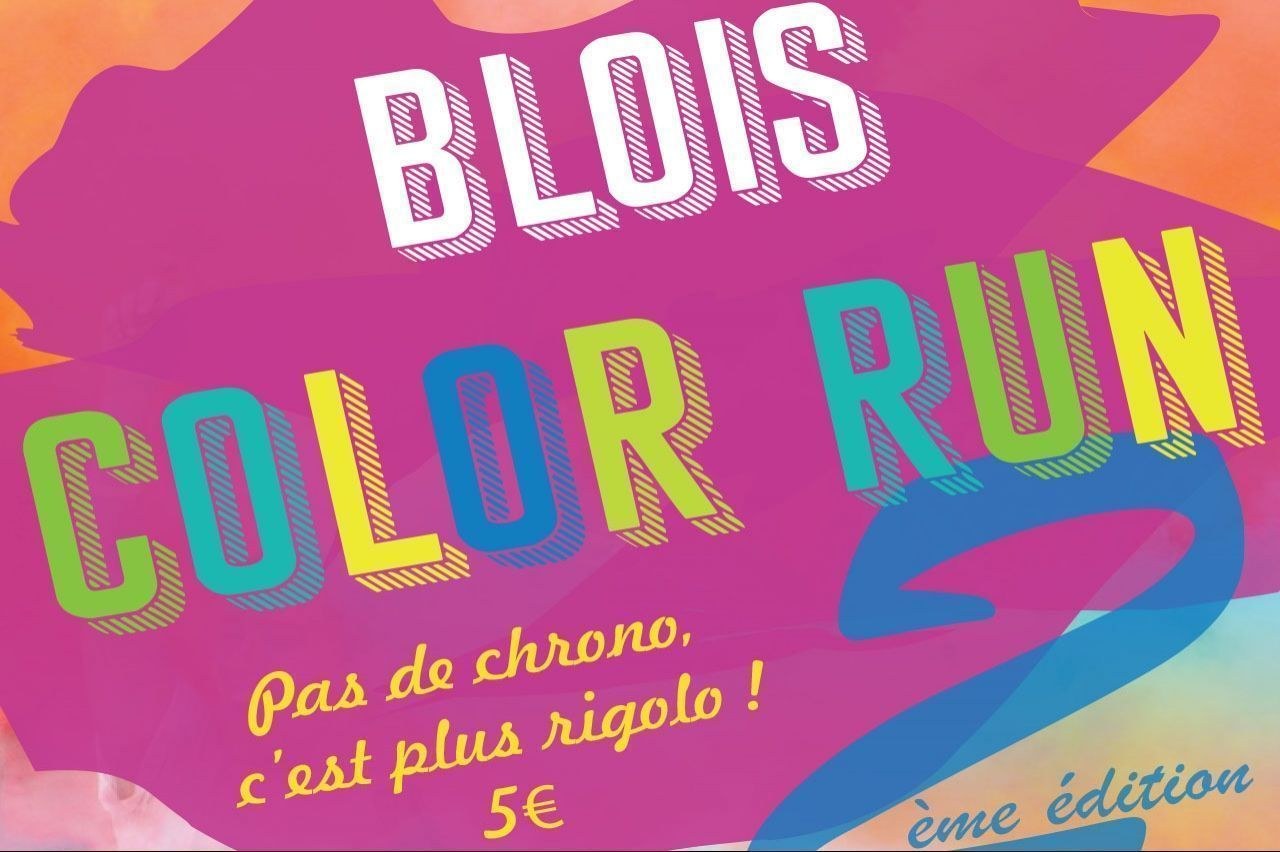 Blois : COLOR RUN