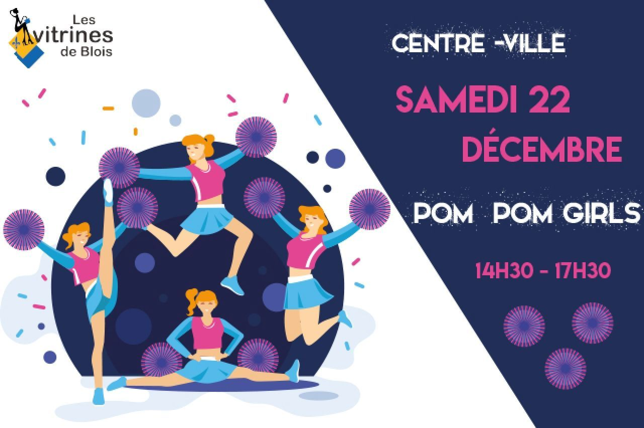 Blois : SPECTACLE POM POM GIRLS